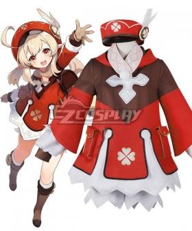Kids Size Genshin Impact Klee Cosplay Costume