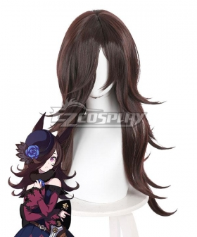 Uma Musume: Pretty Derby Rice Shower Brown Cosplay Wig