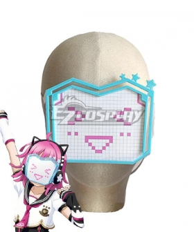 LoveLive! School Idol Festival PERFECT Dream Project ALL STARS Rina Tennoji Mask Cosplay Accessory Prop - B Edition