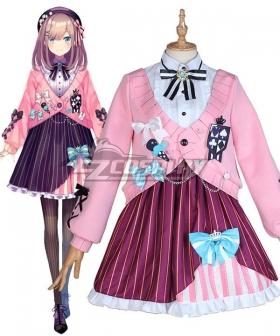Virtual YouTuber Suzuhara Lulu Cosplay Costume