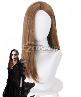 Resident Evil 8 Village Daniela Dimitrescu Brown Cosplay Wig