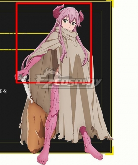 The Dungeon of Black Company Rim Pink Cosplay Wig