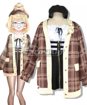 Hololive Vtuber YouTuber English Watson Amelia B Cosplay Costume