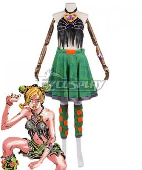 Jojo'S Bizarre Adventure: Stone Ocean Cujoh Jolyne Cosplay Costume - E Editon