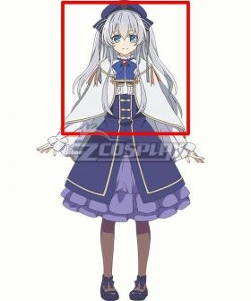 Seirei Gensouki Spirit Chronicles Celia Claire Grey Cosplay Wig