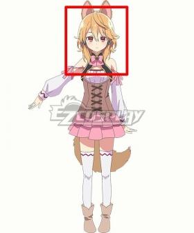 Seirei Gensouki Spirit Chronicles Latifa Orange Cosplay Wig