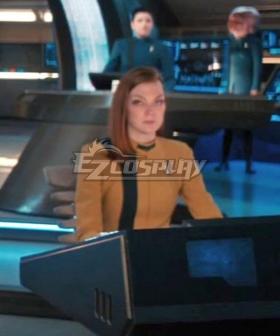 Star Trek: Discovery Season 4 Yellow Uniform Halloween Cosplay Costume