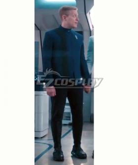 Star Trek: Discovery Season 4 Blue Uniform Halloween Cosplay Costume