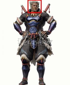 Monster Hunter Rise The Elder Fugen Halloween Grey Cosplay Wig