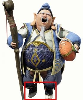 Monster Hunter Rise Hojo Guild Master Blue Cosplay Shoes
