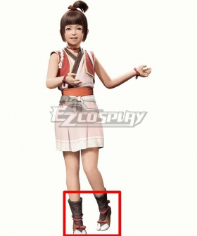 Monster Hunter Rise The Sweettooth Brown Cosplay Shoes