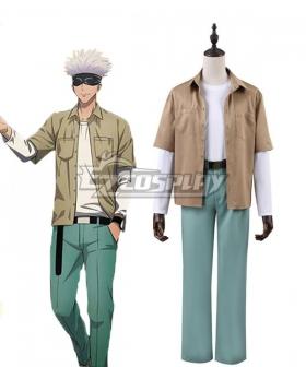 Jujutsu Kaisen Gojo Satoru Daily Uniform Cosplay Costume