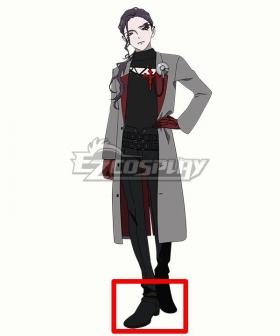 Visual Prison Lost Eden Mist Flaiv Black Cosplay Shoes