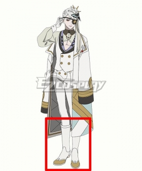 Visual Prison Eclipse Hyde Jayer White Shoes Cosplay Boots