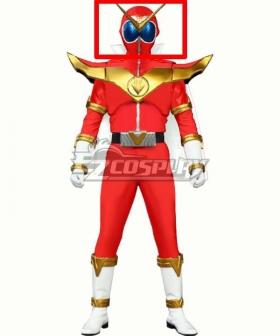 Kikai Sentai Zenkaiger Power Rangers Zenkaiger  Zenkai Red Helmet Cosplay Accessory Prop