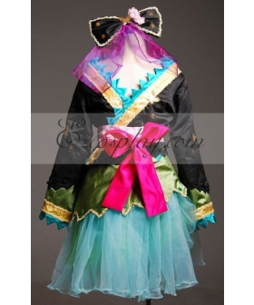Vocaloid Miku Project Diva HuaKui Kimono Cosplay Costume-Advanced Custom