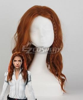 Marvel Black Widow 2021 Natasha Romanoff Brown Twist Braid Cosplay Wig