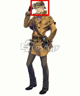 The Great Ace Attorney Chronicles A Most Singular Great Detective Green Cosplay Wig