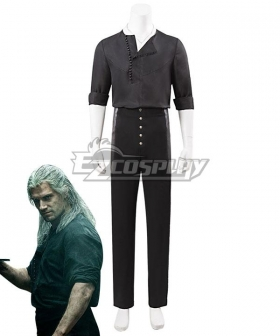 The Witcher 2021 Netflix Geralt Of Rivia Cosplay Costume