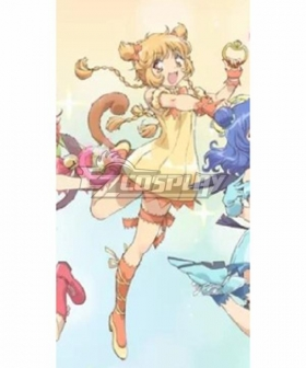 Tokyo Mew Mew Pudding Fong 2022 New Edition Cosplay Costume