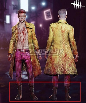 Dead by Daylight The Trickster Halloween Red Cosplay Shoes