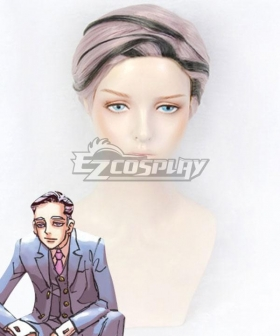 Tokyo Revengers Ran Haitani Black Pink Cosplay Wig
