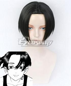 Tokyo Revengers Manjiro Sano Mikey Black Cosplay Wig