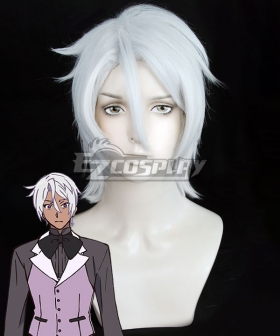 The Case Study of Vanitas Noé Archiviste Cosplay Silver White Cosplay Wig