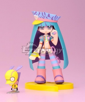 Panty and Stocking with Garterbelt Stocking Policemen Figure Version Cosplay Costume