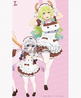 Miss Kobayashi's Dragon Maid S Ilulu Kanna Kamui Cafe Maid
