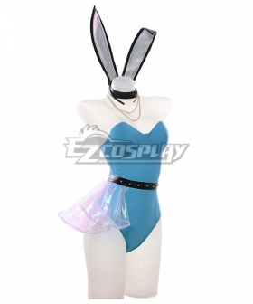 League Of Legends LOL KDA K/DA ALL OUT Bunny Girl Seraphine Halloween Cosplay Costume