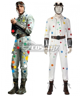 DC The Suicide Squad 2 Polka Dot Man 2021 Movie Halloween Cosplay Costume