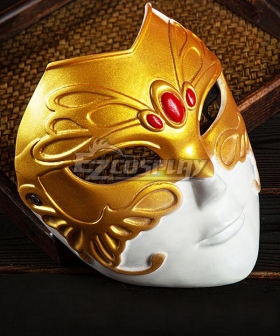 Tian Guan Ci Fu Heaven Official's Blessing Anime Xianle Crown Prince Flower Crown Martial God Xie Lian Mask Cosplay Accessory Prop