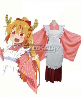 Miss Kobayashi's Dragon Maid Tohru Maid Cosplay Costume B Edition