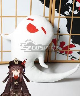 Genshin Impact Hu Tao Ghost Plush Doll Cosplay Accessory Prop