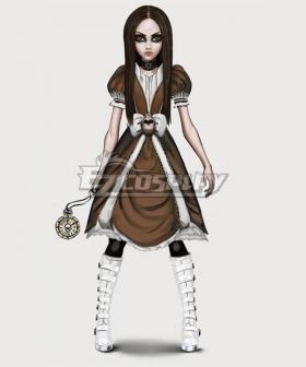 Alice: Asylum Alice DeathTime Dress Cosplay Costume