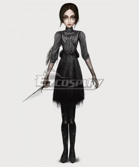 Alice: Asylum Alice Depression Cosplay Costume
