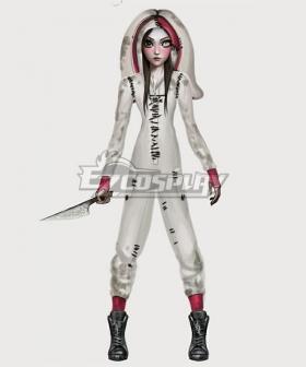 Alice: Asylum Alice Rabbit Onesie Cosplay Costume