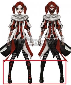 Alice: Asylum Alice Circus Black Shoes Cosplay Boots