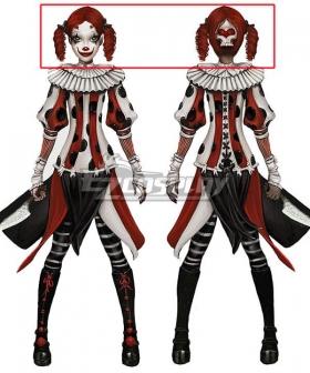 Alice: Asylum Alice Circus Red Cosplay Wig