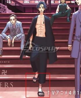 Tokyo Revengers Kakucho Hitto Borwn Cosplay Shoes