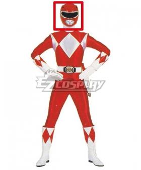 Mighty Morphin Power Rangers Red Ranger Helmet 3D Printed Cosplay Accessory Prop