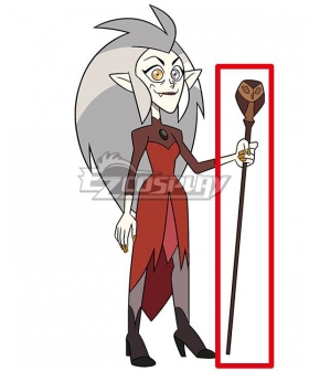 The Owl House Eda Clawthorne Owl Staff Cosplay Weapon Prop