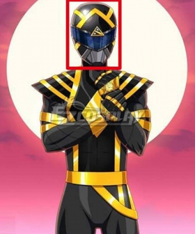 Mighty Morphin Power Rangers Omega Black Ranger Helmet 3D Printed Cosplay Accessory Prop