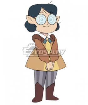 The Owl House Willow Park Casual Cosplay Costume