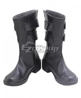 Tokyo Revengers Seishu Inui Black Shoes Cosplay Boots