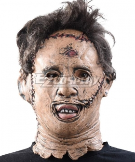The Texas Chain Saw Massacre Leatherface Mask Halloween Cosplay Accessory Prop