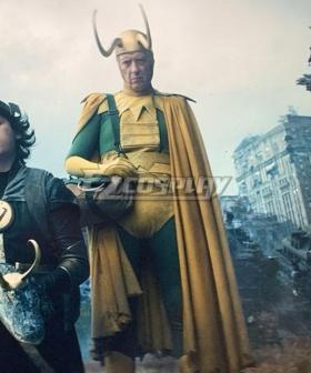 Loki Season 1 Loki King Cosplay Costume