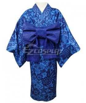 Kids Size Demon Slayer: Kimetsu No Yaiba Inosuke Hashibira Kimono Cosplay Costume