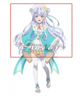 The World's Finest Assassin Gets Reincarnated in Another World as an Aristocrat Dia Viekone Silver Cosplay Wig